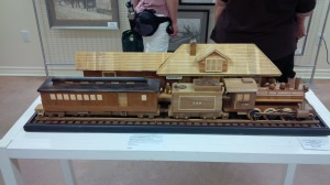 Model of the Train Station