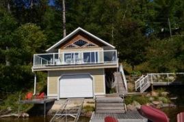 Baptiste Lake dock